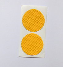OEM factory 2016 popular yellow round mosquito repellent sticker nano anti mosquito patches for pregnant women and baby