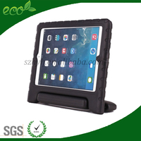 Newest waterproof high quality kids bumper portable rubber tablet pc cover EVA tablet case for ipad 2 ipad 3 ipad 4