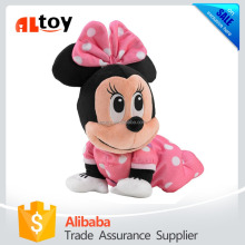 Lovely Minnie Mouse Plush Stuffed Toy