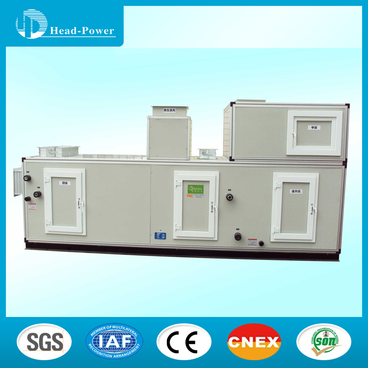4 Rows,10 Fins per inch air handling unit specification modular vertical air handling unit