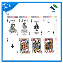 White pvc plastics sheet for playing cards