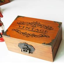 Small wooden Exotic Hand Carved Keepsake Storage Organizer Wooden Jewelry Box