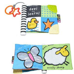 wholesale early educational kid's cloth book