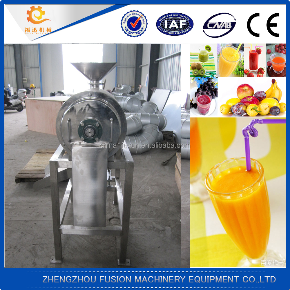 High efficiency fruit and vegetable beating machine