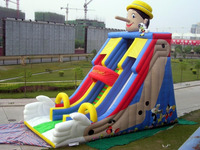 Popular Commercial Cheap Giant Inflatable Slide