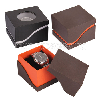Personalized Cardboard Watch Storage Boxes