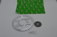 GXT motorcycle sprocket