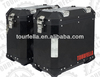 Tourfella Motorcycl side box 41L/35L/29L , Coated black, Aluminum
