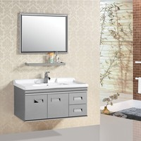AJL-8106 Widely Used Best Prices Pinghu White rv bathroom cabinets
