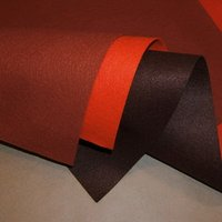 color 100% polyester felt fabric