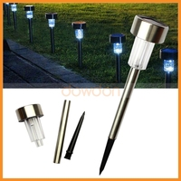 For Garden Decoration Christmas Lights Outdoor Solar Light Outdoor Lawn Light with Spike Tube