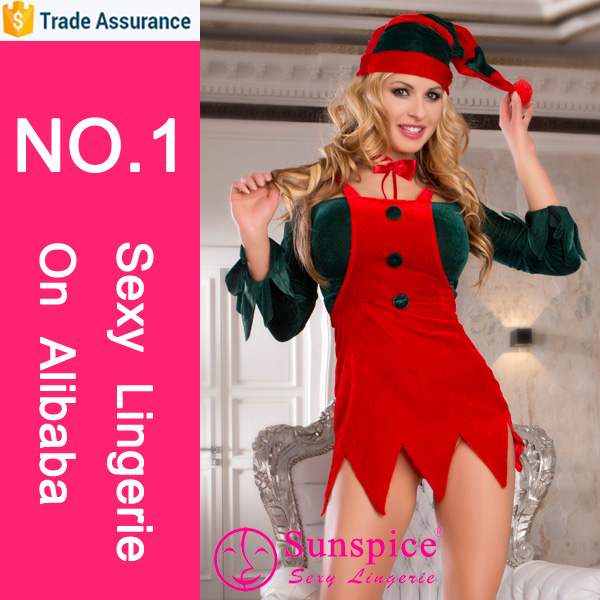 Hottest selling sex lingerie adult christmas games sex woman sexy lingerie