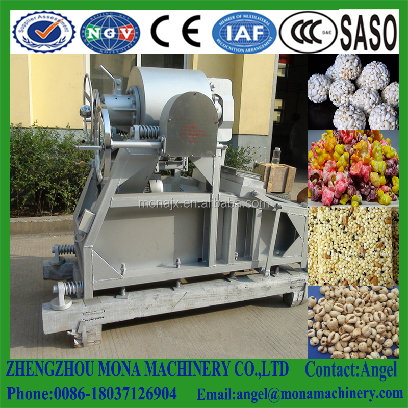 Expanded Puffed Cereals Food Making Machine, cereal ball forming machine