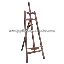 Professional varnished Frech Rear-support easel drawing stand