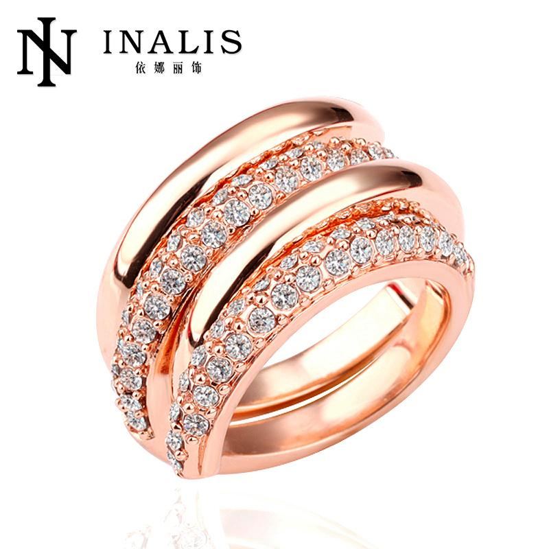 Stylish 18K gold plated wholesale rose gold jewelry <strong>R120</strong>