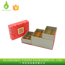 Cute rectangular cookie/biscuit/chocolate tin box with paper tray