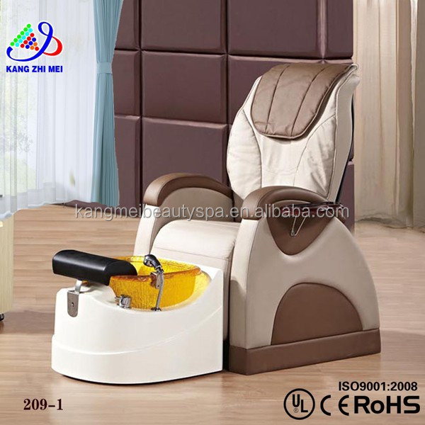 Electric warm water bag/salon pedicure spa massage chair/pedicure spa chair motor KM-S209-1
