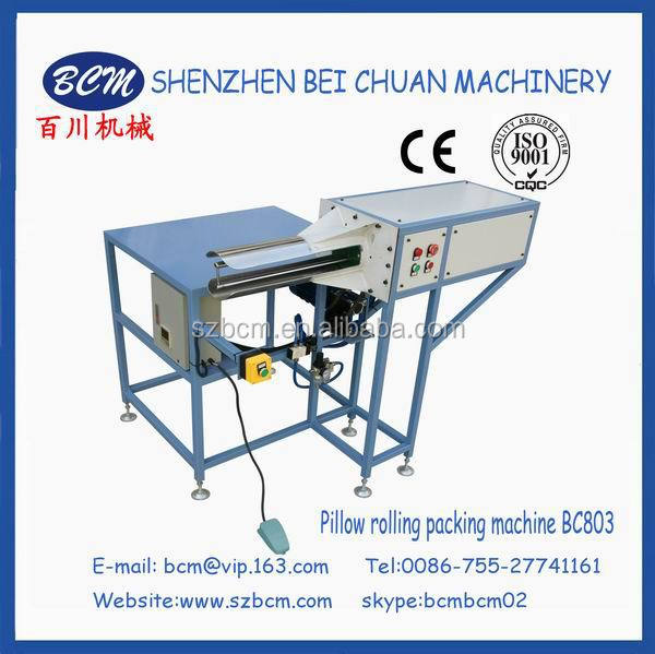 Best quality cushion roll packing machine