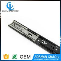 China supplier ball bearing keyboard drawer slide rail for Wooden furniture drawer