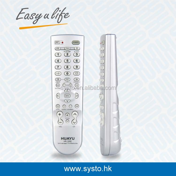 HUAYU HR-159E TOP QUAILTY NORMAL UNIVERSAL TV REMOTE CONTROL