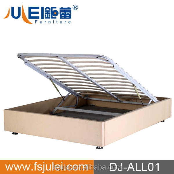 Pu Leather Hydraulic Storage Bed