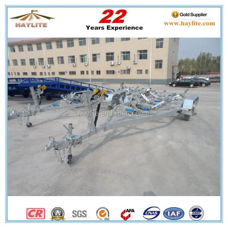 hot sale galvanized boat trailer for australia and new zealand