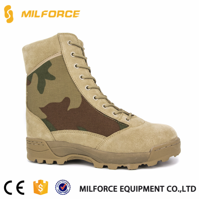 MILFORCE-army jungle military camouflage combat boots shoes