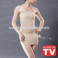 2015 hot sale Quick Dry Seamless Strapless body shaper for woman underwear