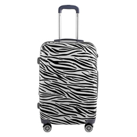 Made in China trendy trolley 4 wheels luggage bag new model colorful luggage