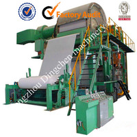 Cylinder Vat Forming Tissue Paper Production Machine