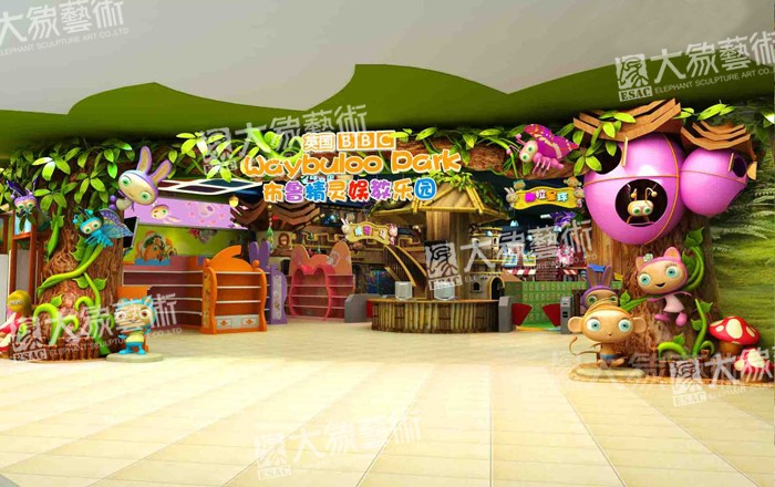 Waybuloo Indoor Them Park Decoration Design
