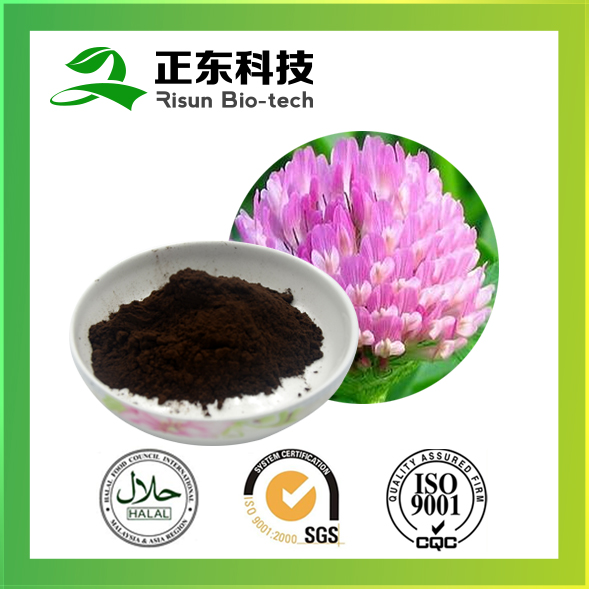 Risun naturals extract powder 8% isoflavones of Red Clover Extract
