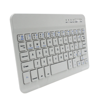 factory price 2016 7inch bluetooth keyboard Universal Wireless Bluetooth Keyboard For Apple iPad Mini 2 3 4 Air