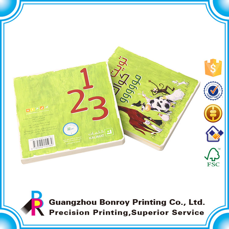 Cheap custom printing coloring hardcover child book