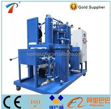 Series COP reducing acid value and peroxide value waste cooking oil recovering purifier machine