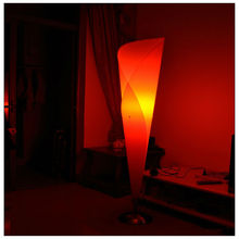 Paper lamp shades for floor stand lamps of living room decoration with E27 bulbs
