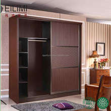 Hot sell new designs oak bedroom modern wardrobe