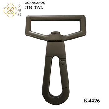 K4426 Alibaba China Snap Clasp trigger lead hook for hand bag