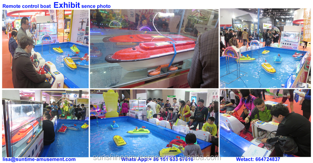 WONDERFUL Electric motor boat for kids
