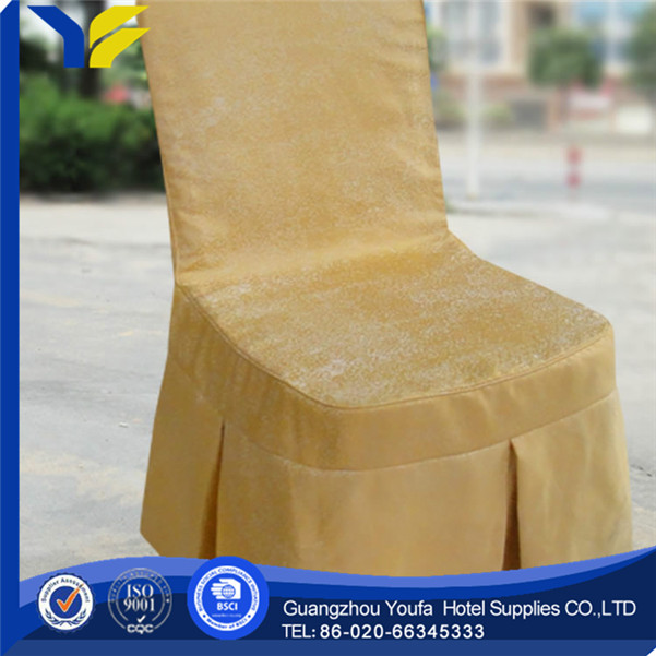 high quality spandex/polyester material to make chair covers