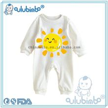 oulu 2016 Wholesale new born cotton fashion printing adult baby rompers / jumpsuit