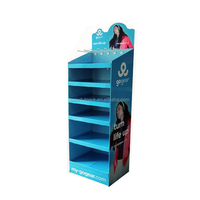 New design advertising cardboard pop display/pop display /cosmetic pop display