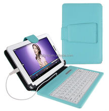 "ultra-slim and cheaper 7"" Leather Keyboard Tablet Case"