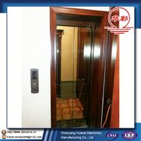 Hotel for 5 Person villa ISO factory price elevator part