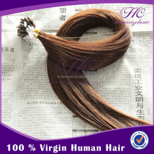 Factory wholesale 18 inch Silicon Micro Beads Hair Extensions