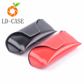 Wholesale Custom color Durable leather sunglasses case