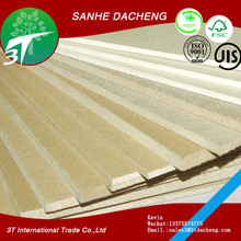 China manufacturer E1/E0 18MM promotion top quality cheap plain MDF board