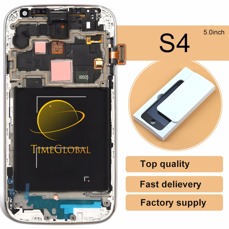 New products 2015 original new cheap lcd + digi for samsung s4 i9500(with frame)