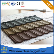 Fashion Building Material Hot Construction Material List Stone Coated Metal Roof Tile Corrugated Roofing Sheets