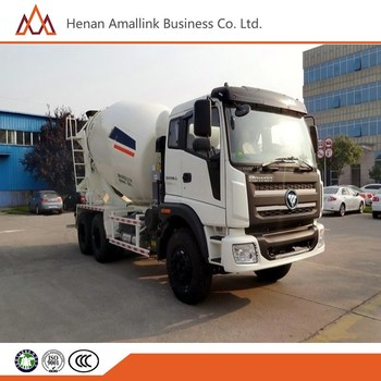 6cbm foton 6X4 New Concrete mixer truck 25 ton weight for sale,